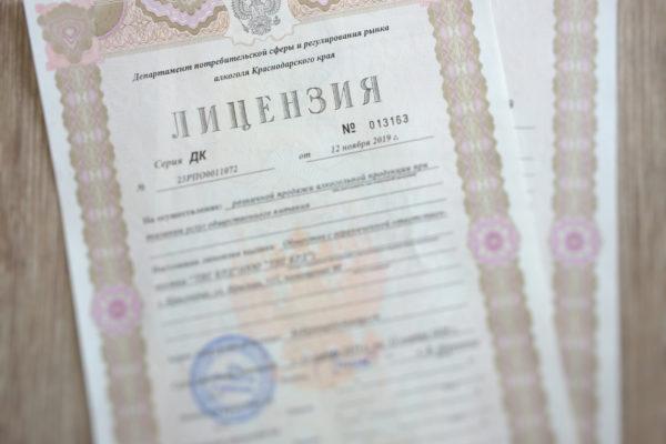 Лицензии в электронном виде